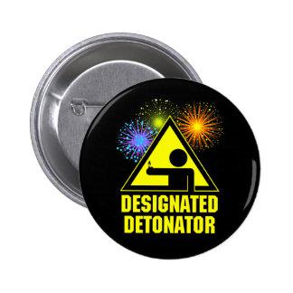Detonador señalado de los fuegos artificiales pins