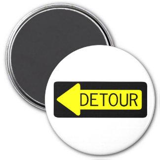 Detour 3 Inch Round Magnet