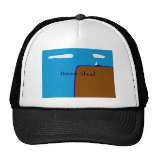 Detour Ahead Apparel Trucker Hat