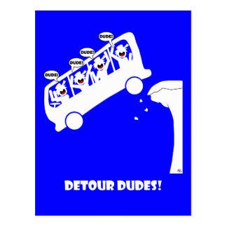 Detour DUDES-3 Postcard
