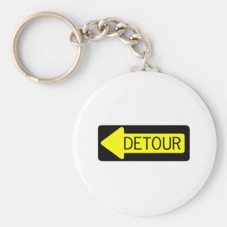 Detour Keychain
