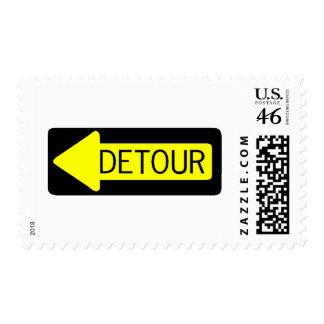Detour Postage Stamps