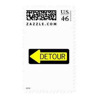 Detour Stamp