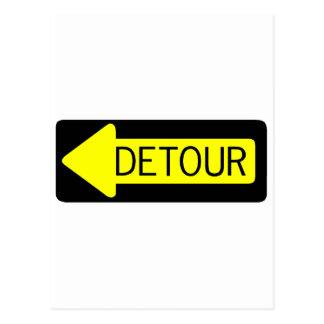 Detour Postcard