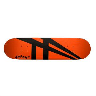 Detour Skateboards Logo Deck
