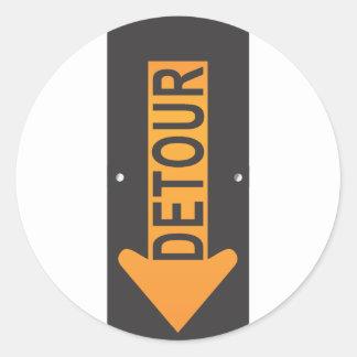 Detour Stickers