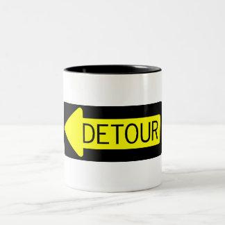 Detour Two-Tone Coffee Mug