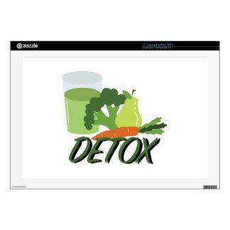 Detox Juice Laptop Decals
