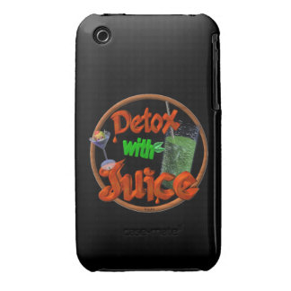 Detox with Juice on 100+ products iPhone 3 Cover