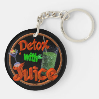 Detox with Juice on 100+ products Keychain