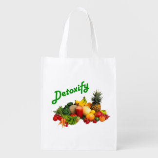 Detoxify Fruits and Vegetables Grocery Bag