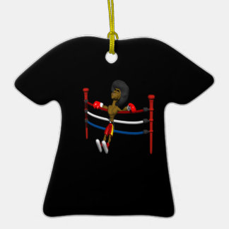 Detrás contra las cuerdas ornamento de reyes magos