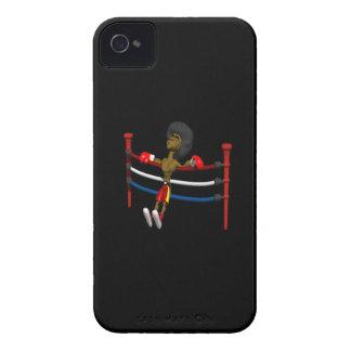 Detrás contra las cuerdas Case-Mate iPhone 4 protectores