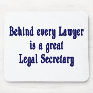 Detrás de cada abogado Mousepad