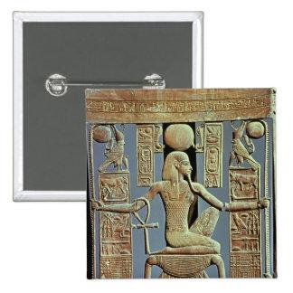 Detrás de una silla de la tumba de Tutankhamun Pin