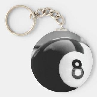 Detrás del 8-Ball, bola ocho Llavero