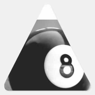 Detrás del 8-Ball bola ocho Pegatinas Trianguloes