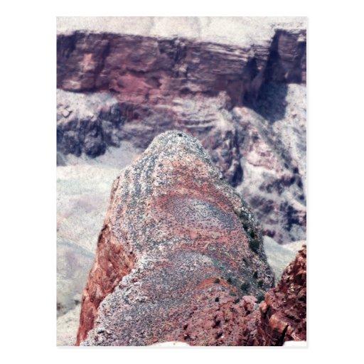 Detrás del cocodrilo en el Gran Cañón Tarjetas Postales