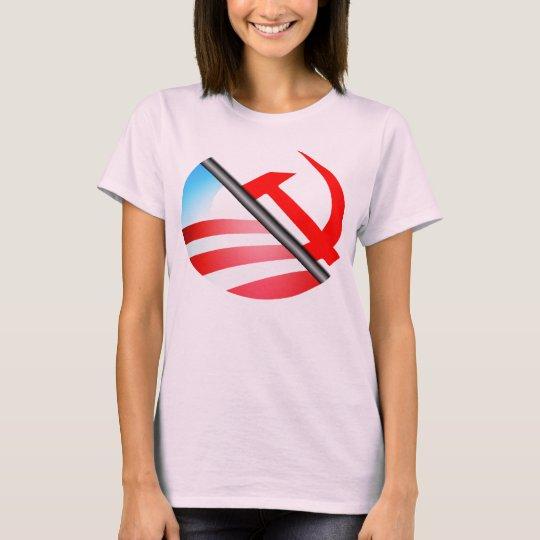 Detrás del logotipo de Obama - 2012 Playera