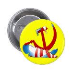 Detrás del logotipo de Obama Pin
