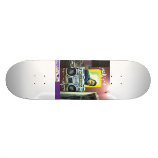 Detrás en los días skate boards