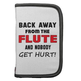 ¡Detrás lejos de la flauta y de nadie consiga el Organizadores