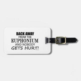 Detrás lejos del Euphonium Etiquetas De Equipaje