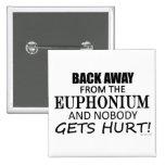 Detrás lejos del Euphonium Pins