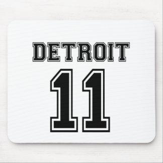 Detroit 11 mouse pad