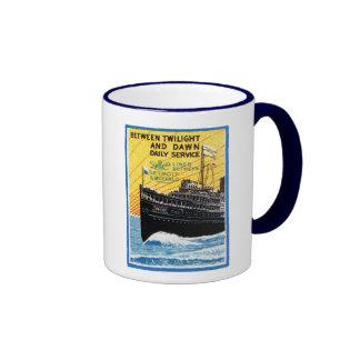 Detroit 1910 al buque de vapor del búfalo taza a dos colores