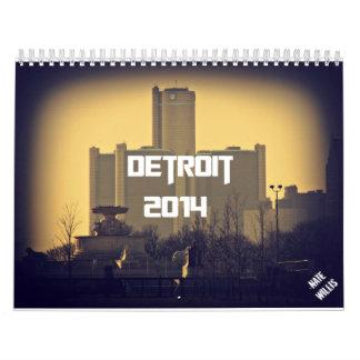 Detroit 2014 Calendar