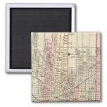 Detroit 2 Inch Square Magnet