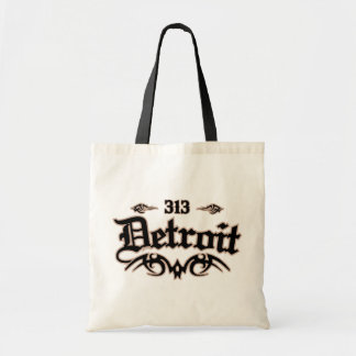 Detroit 313 bolsas lienzo