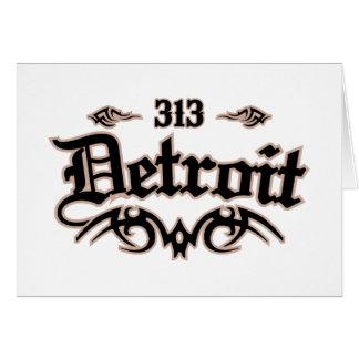 Detroit 313 card