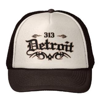 Detroit 313 gorros bordados