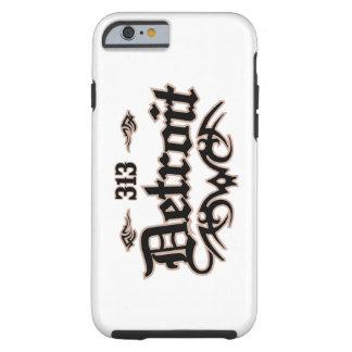 Detroit 313 iPhone 6 case