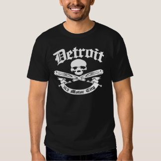 Detroit 313 Motor City Tshirt