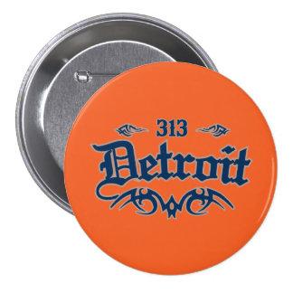 Detroit 313 pins
