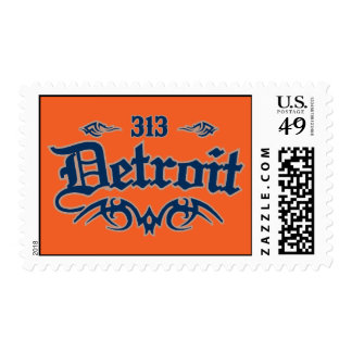 Detroit 313 postage