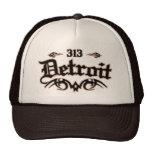 Detroit 313 trucker hat