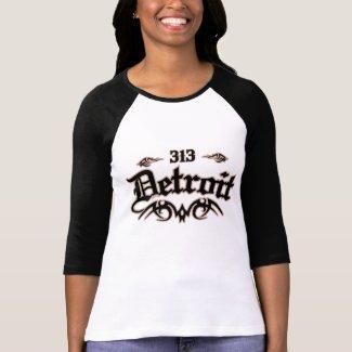 Detroit 313 shirt