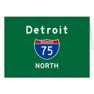 Detroit 75 card