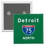 Detroit 75 pin