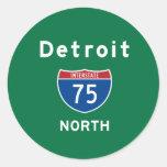 Detroit 75 stickers