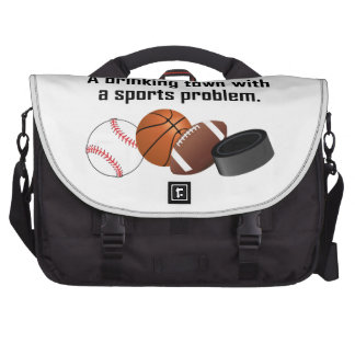 Detroit A Drinking Town With A Sports Problem Commuter Bags