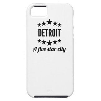 Detroit A Five Star City iPhone 5 Cover