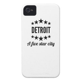 Detroit A Five Star City iPhone 4 Covers