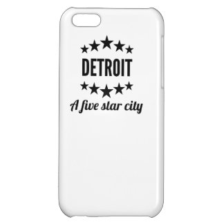 Detroit A Five Star City Cover For iPhone 5C