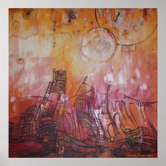 Detroit Abstract VI - Canvas Print