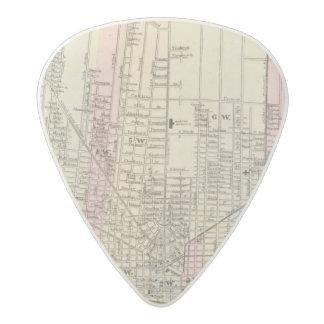 Detroit Acetal Guitar Pick
